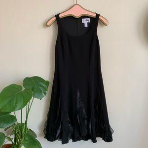 VTG Joseph Ribkoff Little Black Cocktail Dress